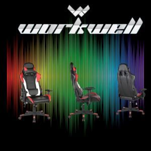 WORKWELL Comfortable Gaming Chair (KW-G09) With Head Pillow And Waist